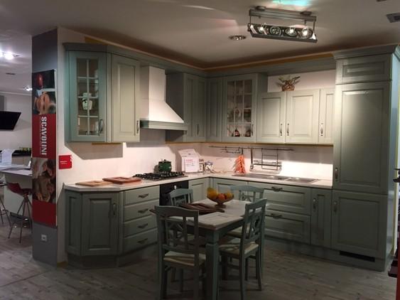 Cucina flux in laccato lucido grigio viola outlet for Giannini arredamenti anagni