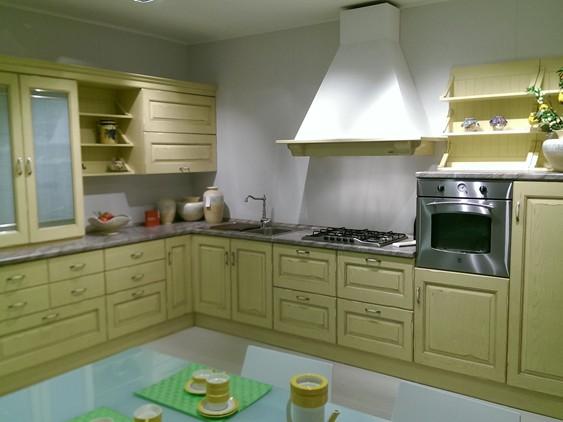 Cucina Carol in Impiallacciato Ciliegio | Outlet Ufficiale Scavolini