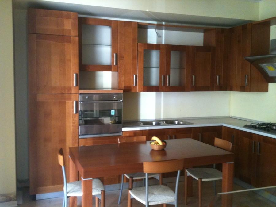 Cucina carol in legno ciliegio outlet ufficiale scavolini - Cucina scavolini carol ...