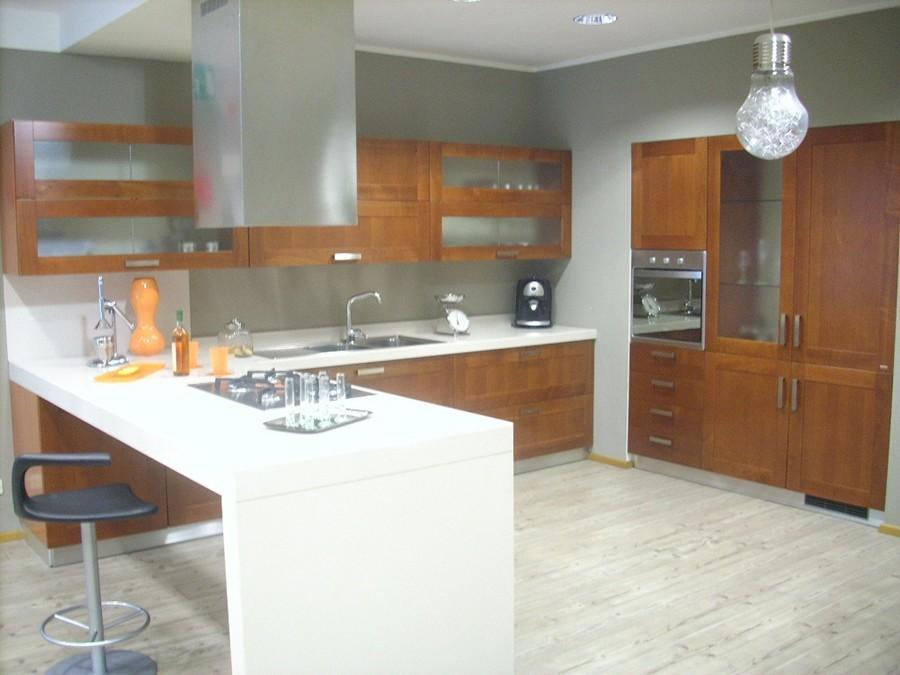 Cucina carol in impiallacciato ciliegio outlet ufficiale - Cucina scavolini carol ...