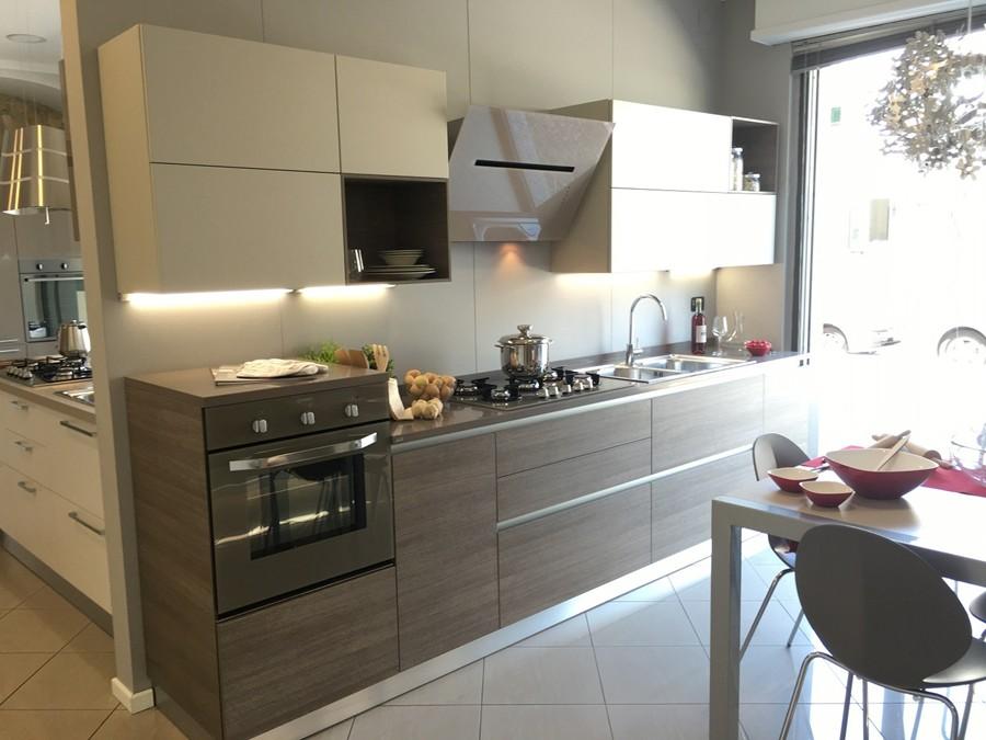 Cucina Evolution in Decorativo, Laccato lucido, Laccato opaco Rovere ...