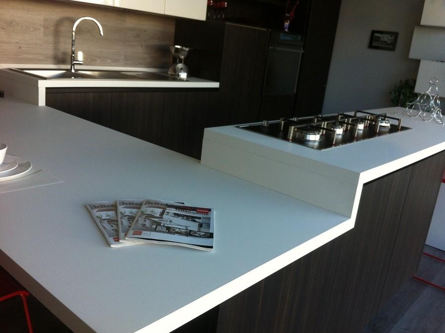 Cucina liberamente in decorativo fenix laccato lucido - Top cucina fenix prezzo ...