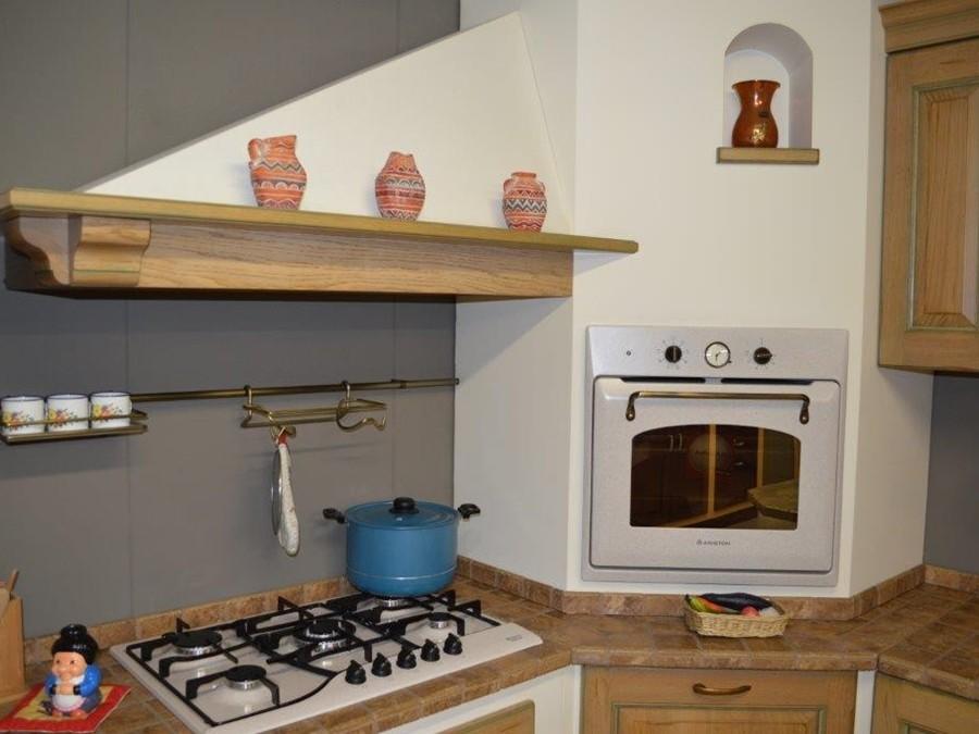 Cucina belvedere in rovere rovere outlet ufficiale scavolini - Appendi pentole cucina ...