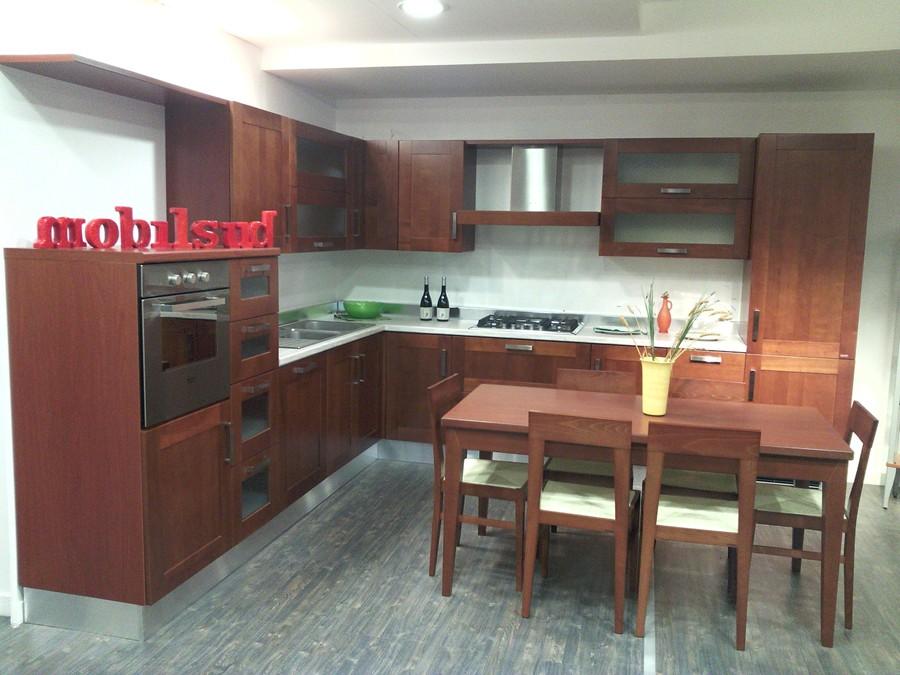 Cucina carol in legno outlet ufficiale scavolini - Cucina scavolini carol ...