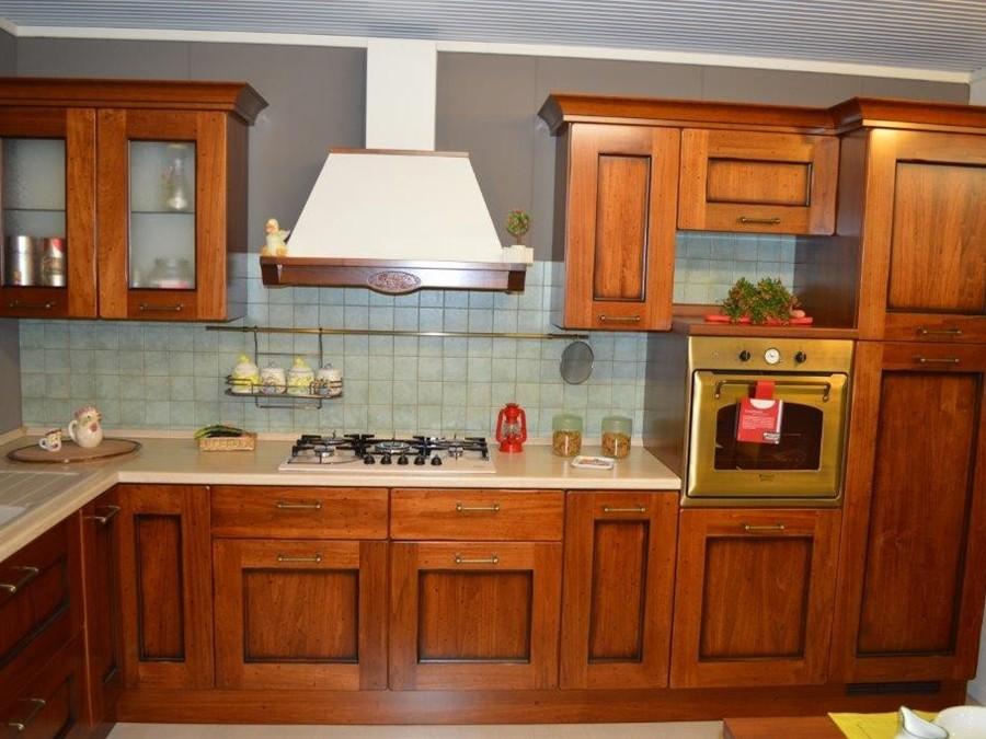 Cucina Amelie in Legno Noce  Outlet Ufficiale Scavolini