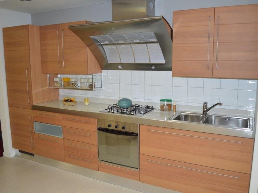 Cucina Life in Legno Ciliegio  Outlet Ufficiale Scavolini