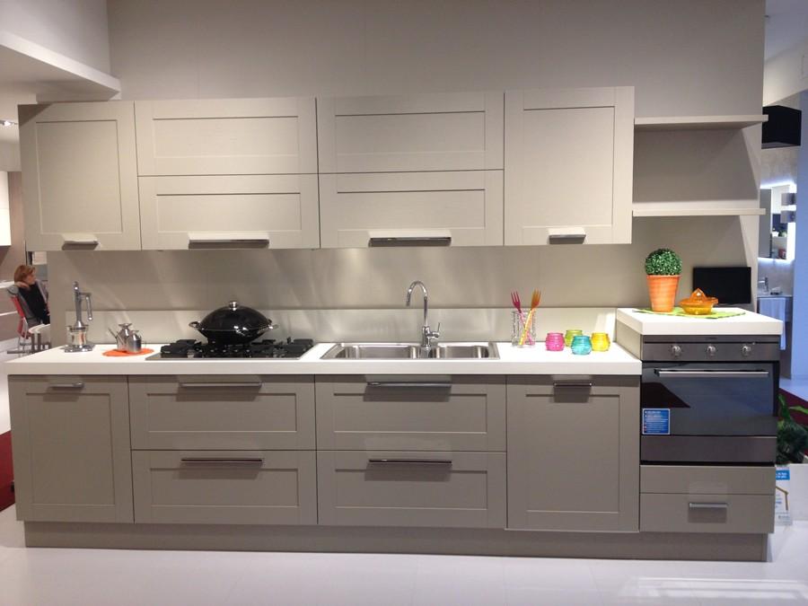 Cucina Open in Decorativo, Impiallacciato Visone  Outlet Ufficiale ...