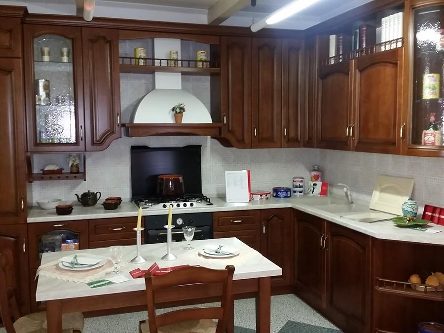 Cucina In Ciliegio Usata : Cucina margot in legno ciliegio outlet ufficiale scavolini