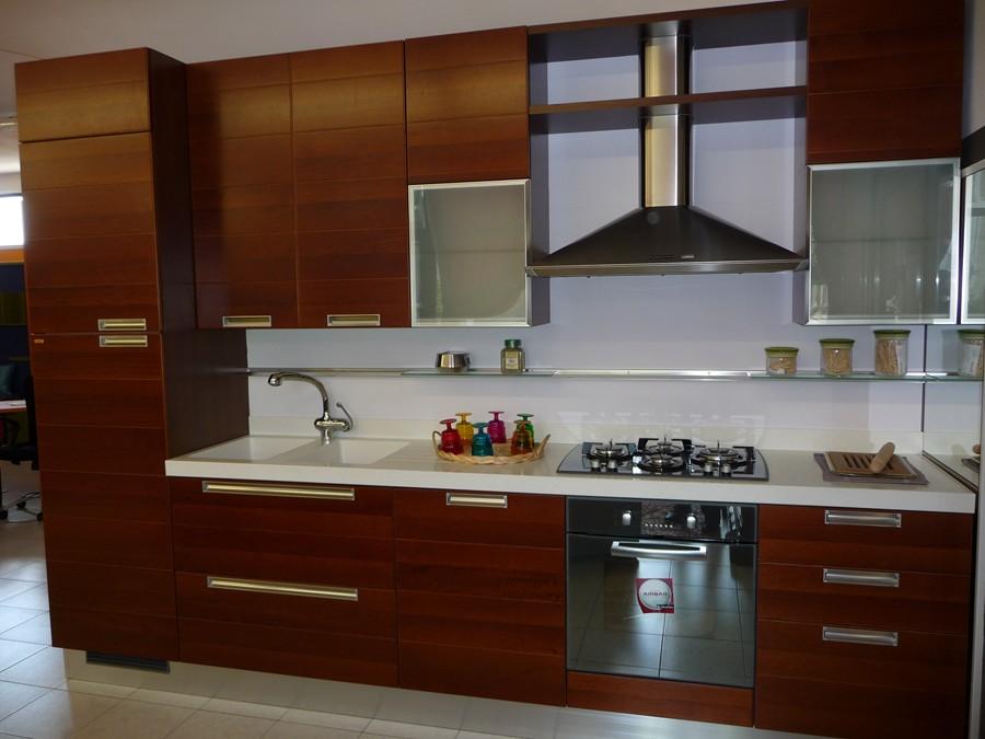 Cucina Scavolini Noce ~ Idea Creativa Della Casa e Dell\'interior Design